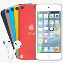 Apple iPod Touch 3D models
