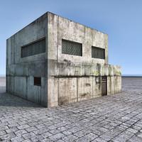 3d building model