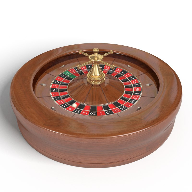 french roulette wheel 3d 3ds