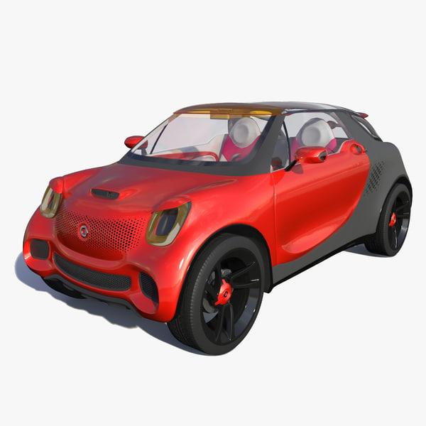 3d model smart forstars