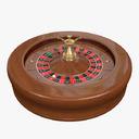 roulette wheel 3D models