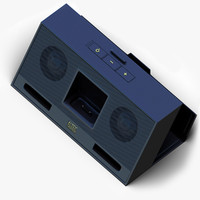3d altec lansing inmotion imt320 model