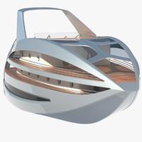 futuristic yacht max