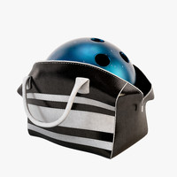 3d model bowling bag