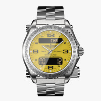 breitling emergency modeled 3d model