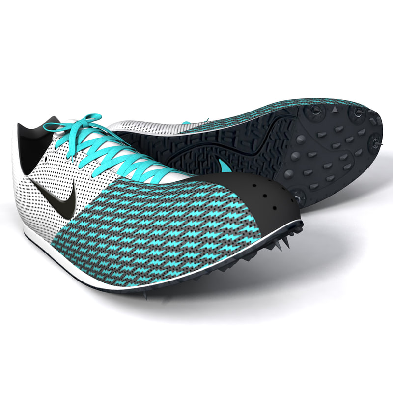 women track shoes obj