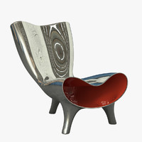 3d model orgone chair