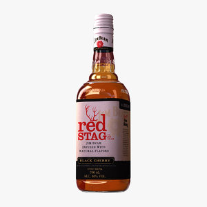 fbx jim beam red stag
