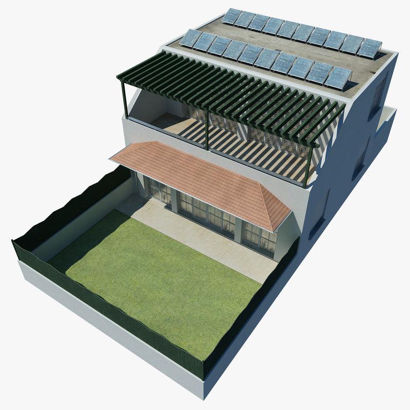 duplex building 3d
