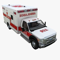 Ford F-450 Super Duty Ambulance 2012
