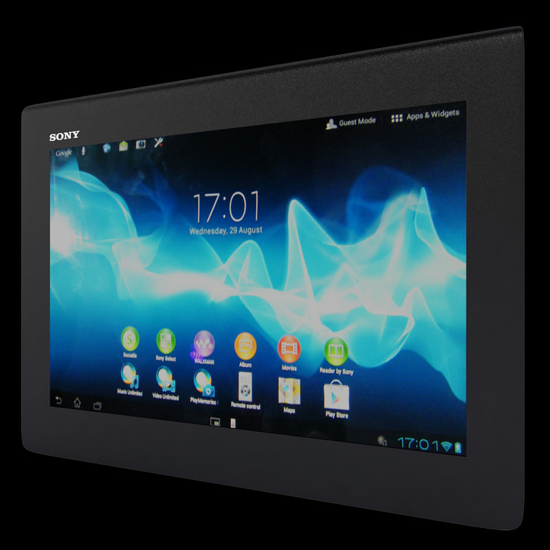 max realistic sony xperia tablet