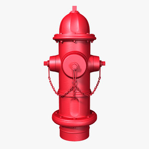 3d model new hydrant