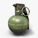 M67 Grenade 3D models
