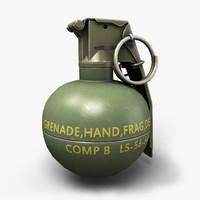 3ds max unreal m67 frag grenade