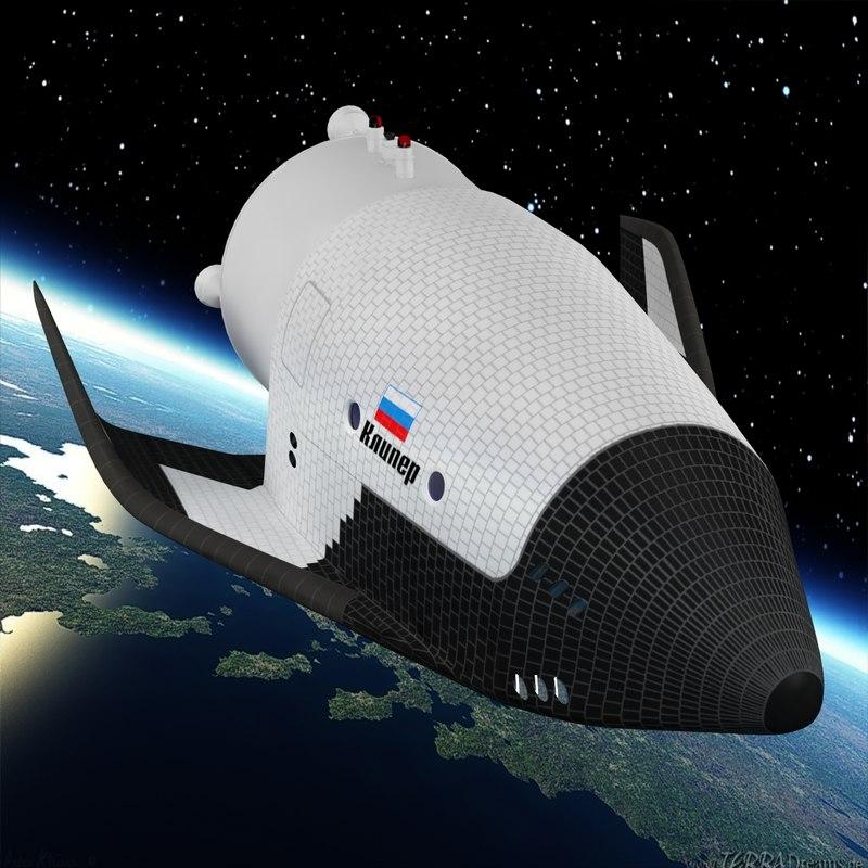 clipper spacecraft energia 3d model