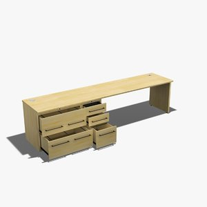 office wood credenza task dxf