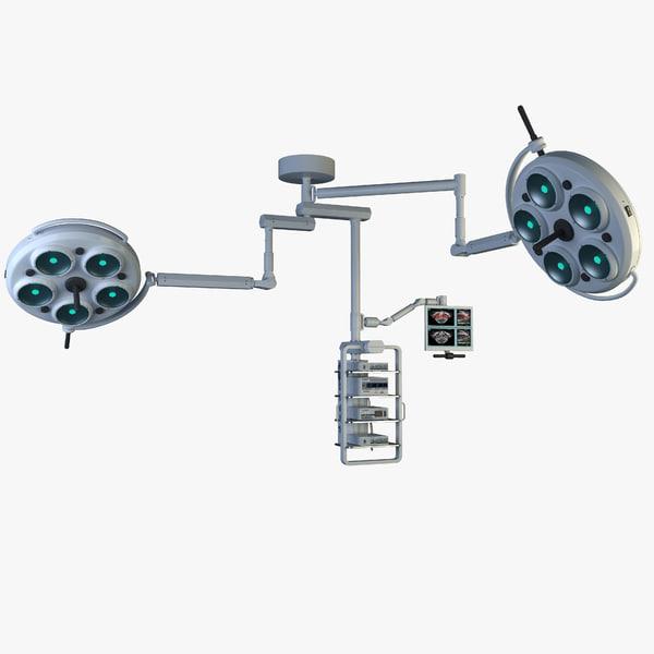 3ds max sky boom medical equipment