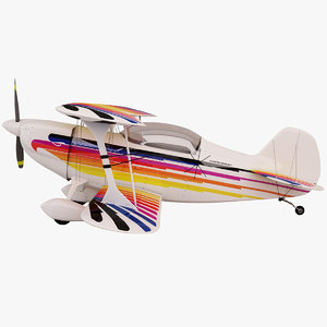 3d model of christen eagle ii