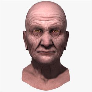 resolution head 3d model