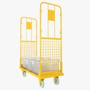 transport trolley 3D models