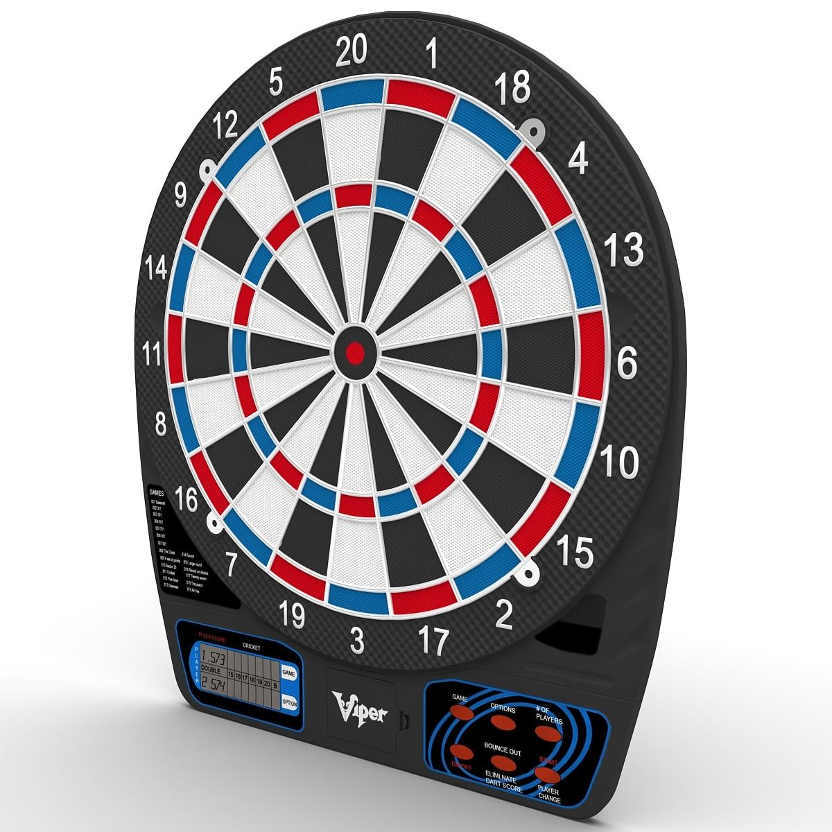 3d electronic dartboard