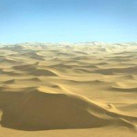 Desert Terrain Sahara Landscape