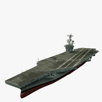 CVN 74 Aircraft Carrier