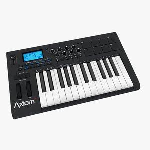 3d axiom m-audio model