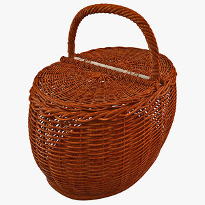 wooden basket 3ds