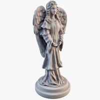 Angel Statuette 3