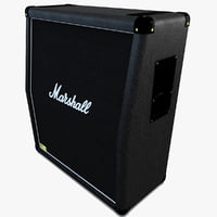 marshall guitar amplifier 3d model