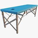 massage table 3D models