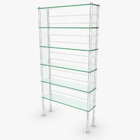 glass locker 3d max
