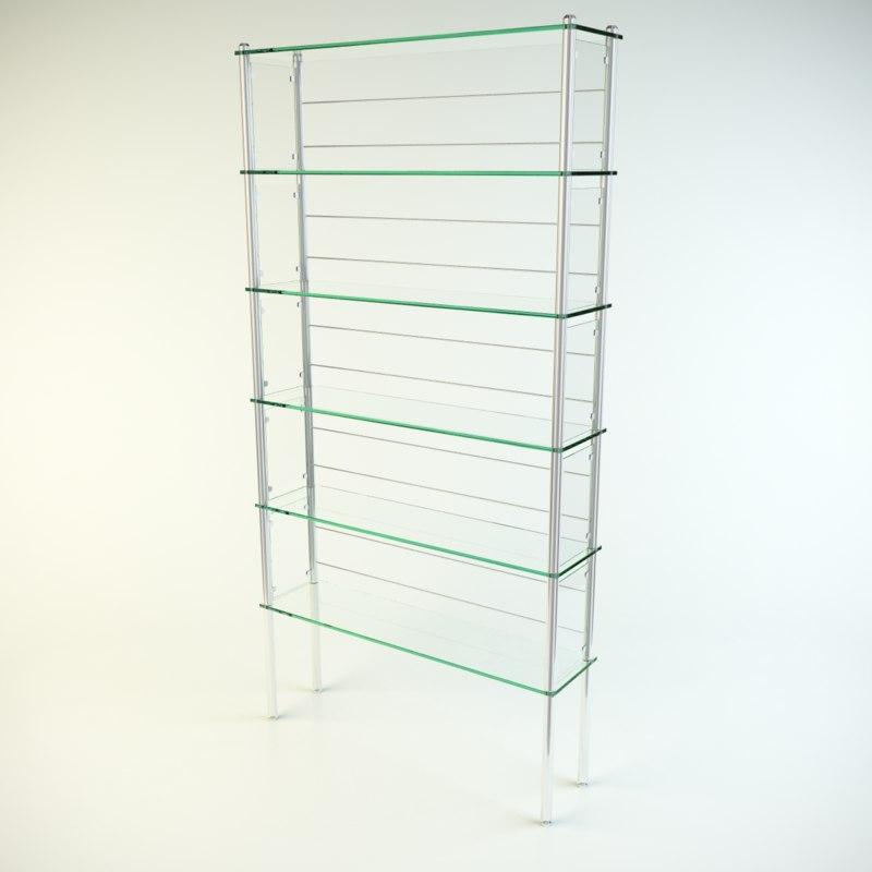 glass locker 3d max