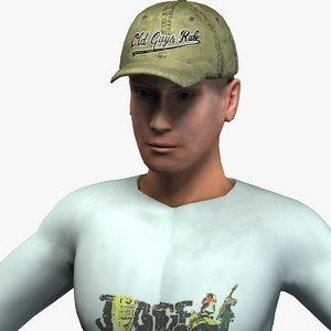 max male civilian