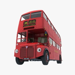 3d aec routemaster london model