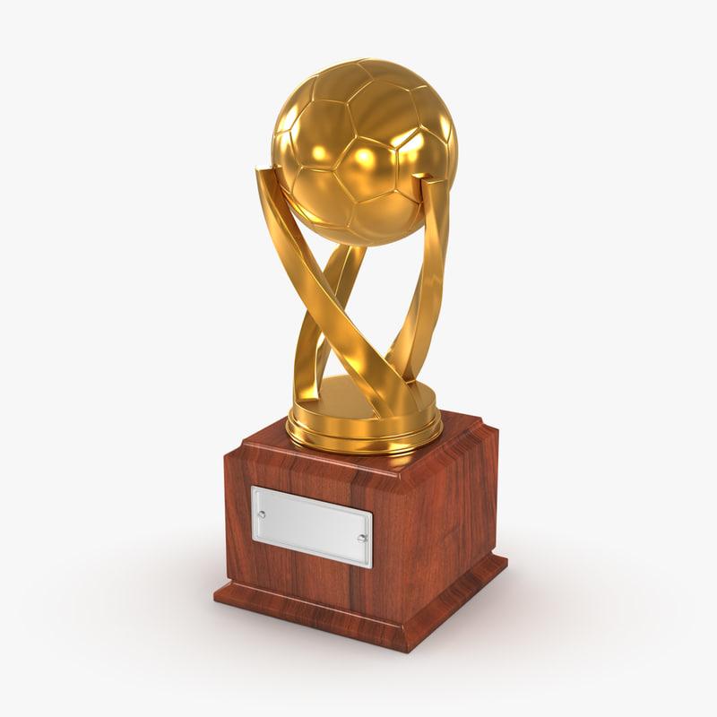 cup soccer 3d model