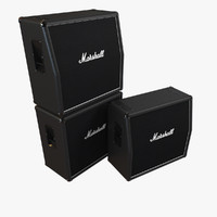3d marshall speaker model