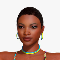 3d candis woman