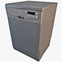 3d model of mabe dishwasher