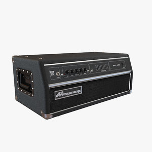 3d ampeg amplifier
