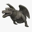 Gargoyle Statue 3D models