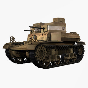 united states wwii m2a2 3d obj