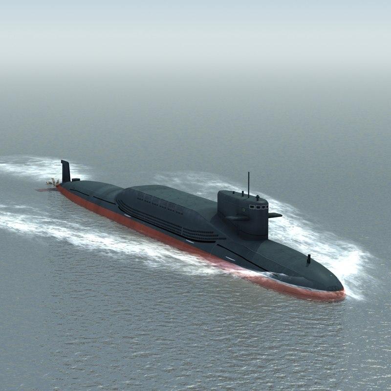 3d jin type094 submarine ssbn