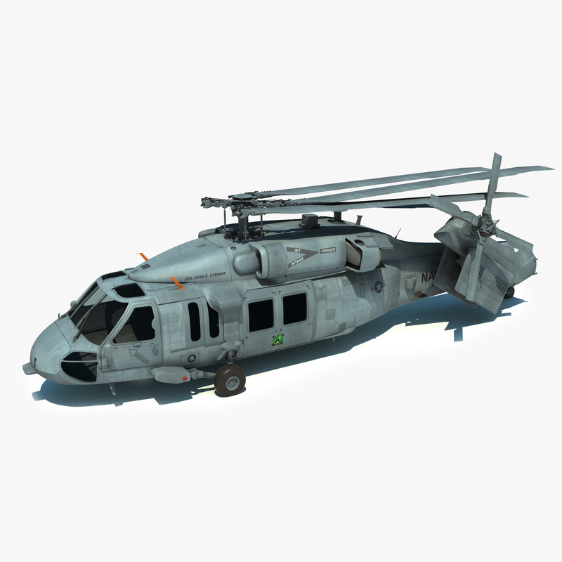max mh-60s sikorsky military helicopter