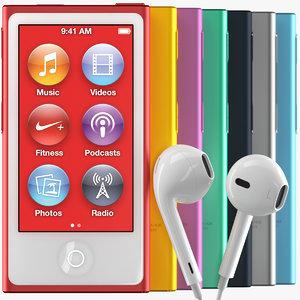 new apple ipod nano 3d max