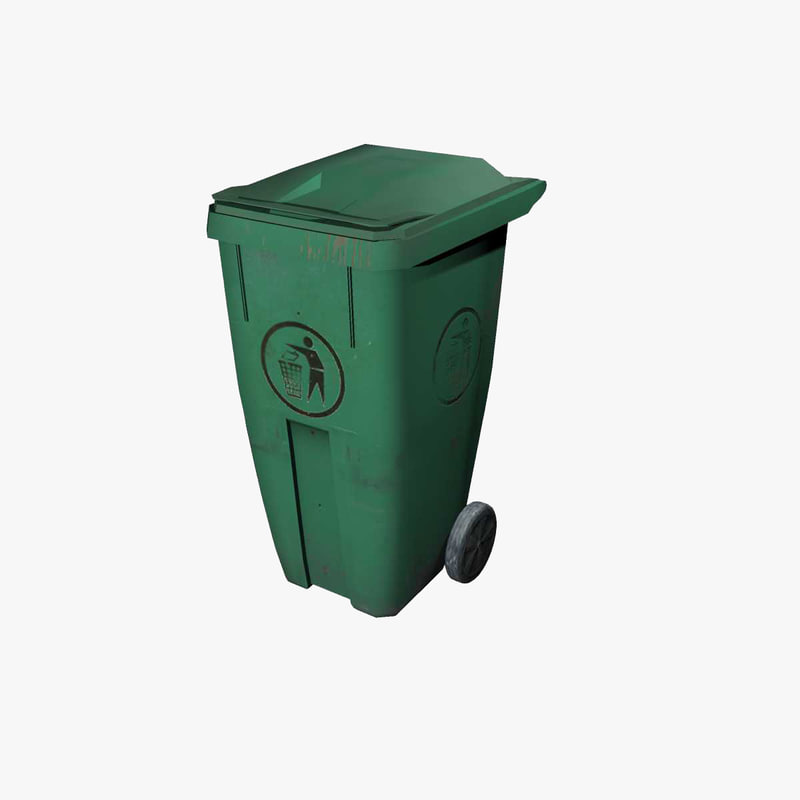3ds green garbage