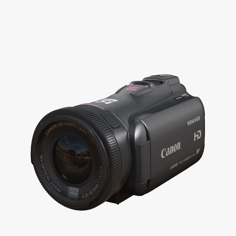3d canon vixia hf g10 model