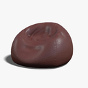 bean bag chair 3D models