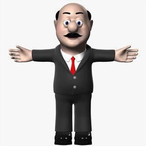 3d film animation model